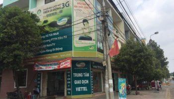 Văn phòng giao dịch Viettel huyện Trảng Bom