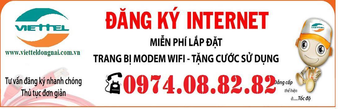 Dịch vụ truyền hình & Internet cáp quang Viettel