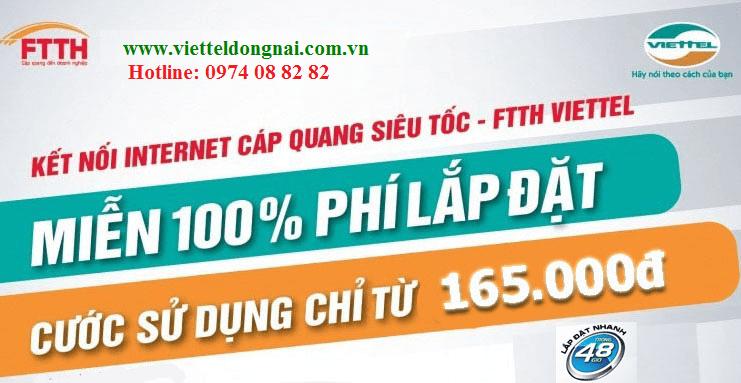 Cáp quang Viettel Long Thành