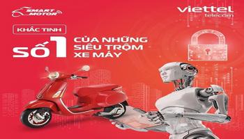 định vị chống trộm xe máy smartmotor Viettel