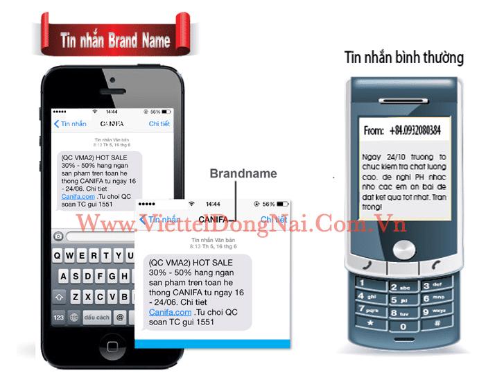 Phân biệt khác nhau giữa tin nhắn rác so với SMS Brandname Viettel