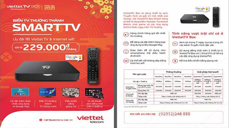 khuyến mãi mới nhất truyền hình Viettel