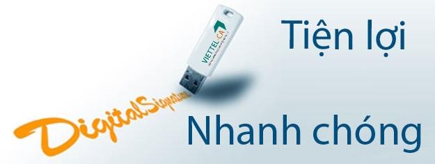 Viettel chữ ký số tại Đồng Nai