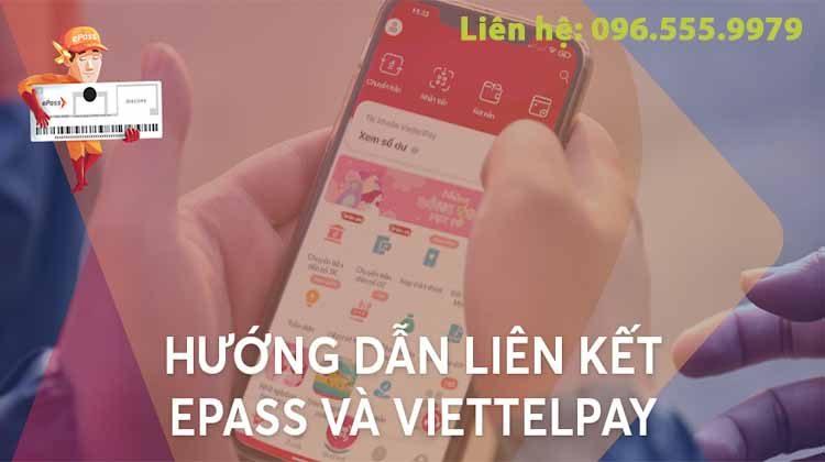 hướng dẫn liên kết app epass với Viettel Pay