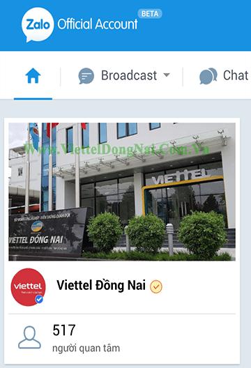 Fanpage Viettel Đồng Nai